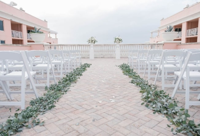 Hyatt Regency Clearwater Beach Ceremony Decor