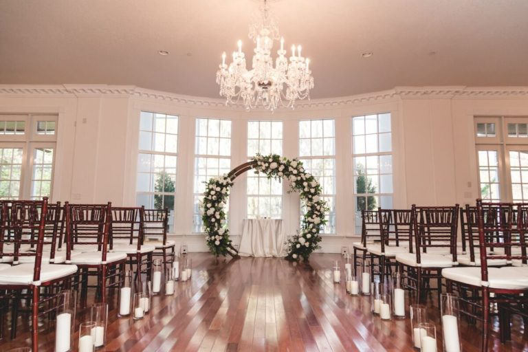 Luxmore Grande Estate Ceremony Decor