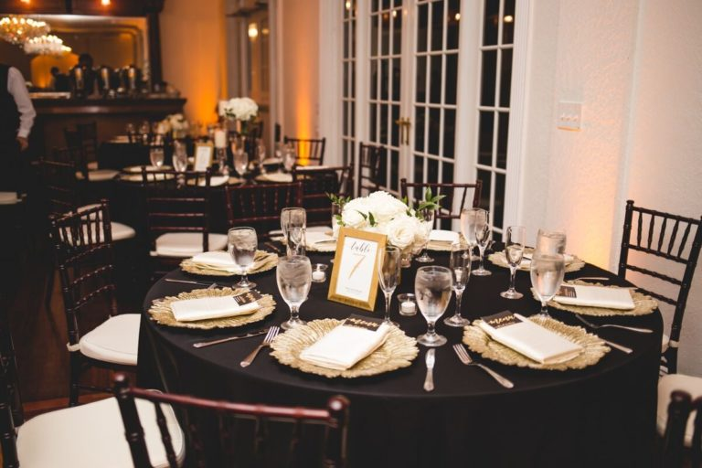 Luxmore Grande Estate Reception Decor