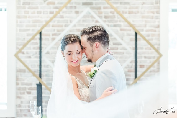 Gold and Whitewashed Wedding Shoot