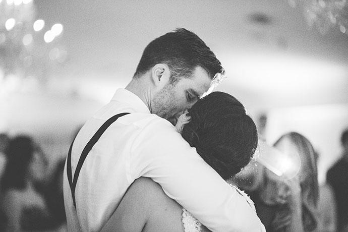 Highland Manor Bride and Groom Kiss