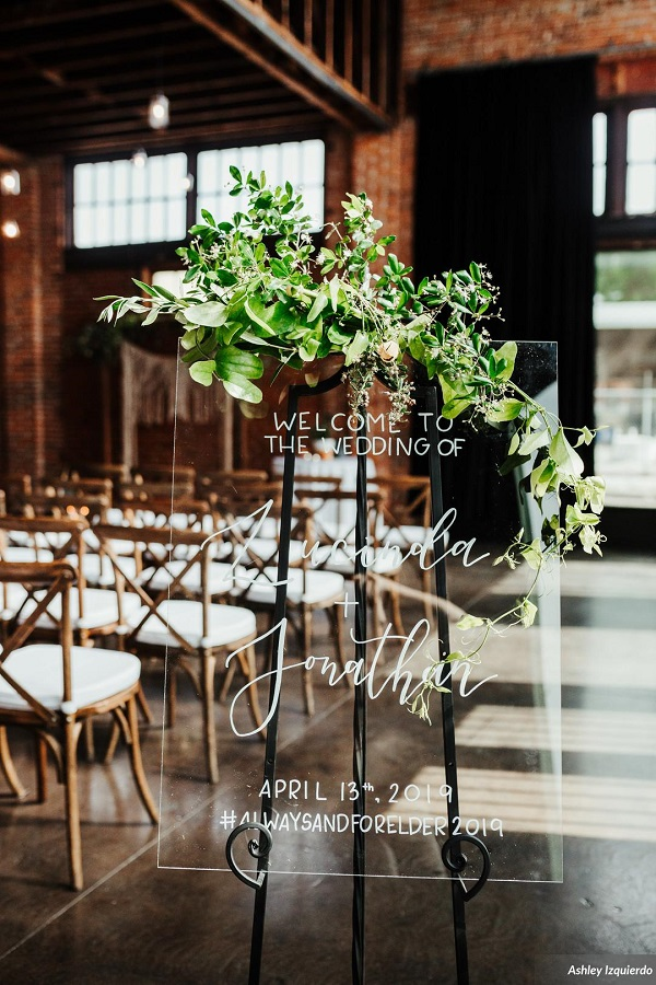 CAVU- Modern Greenery and Gold Wedding-A Chair Affair