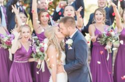 Jewel Toned Wedding at Royal Crest Room