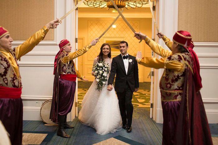 Ritz Carlton Orlando Bride and Groom Entry