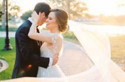 Ritz Carlton Orlando Romantic Wedding