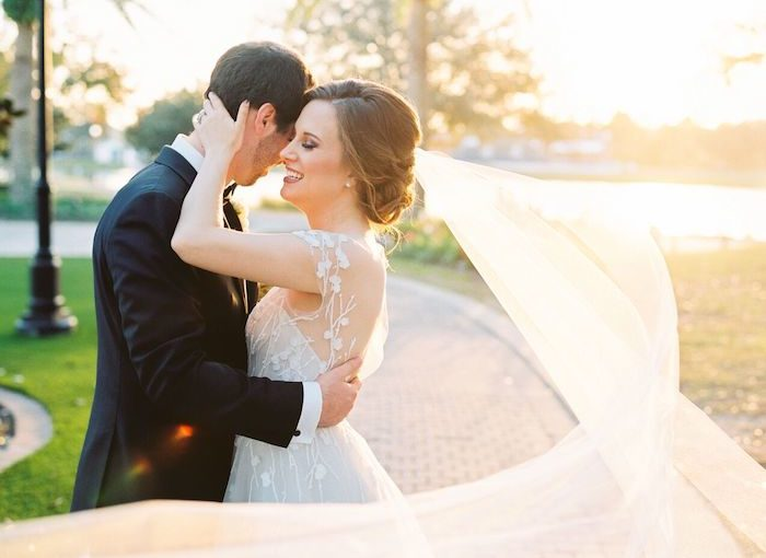 Ritz Carlton Orlando Romantic Wedding