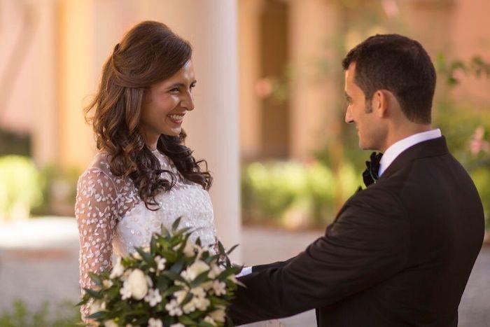 Ritz Carlton Orlando Bride and Groom