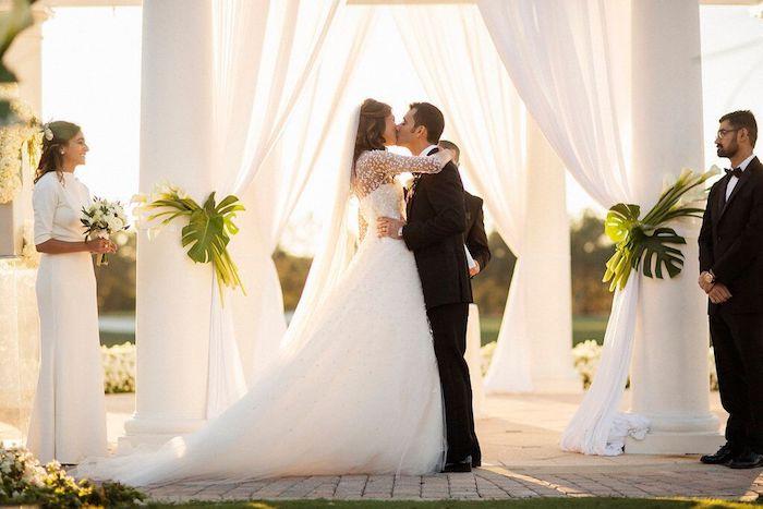 Ritz Carlton Orlando First Kiss