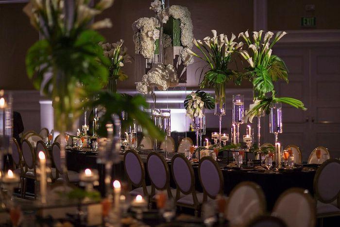 Ritz Carlton Orlando Reception Decor Tables
