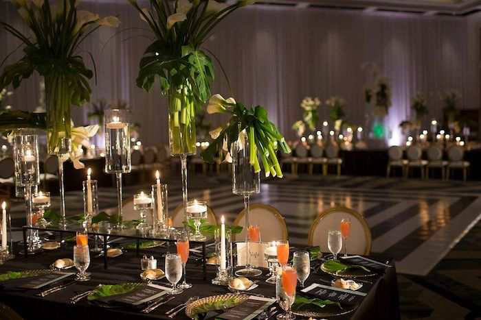 Ritz Carlton Orlando Reception Decor