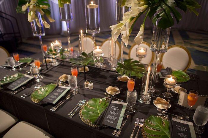 Ritz Carlton Orlando Reception Tables
