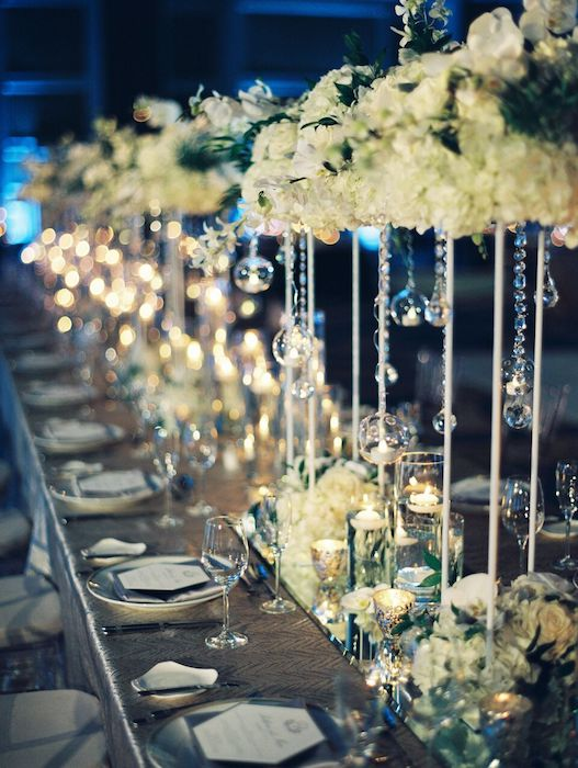 Ritz Carlton Orlando Table Decor