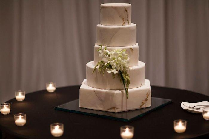 Ritz Carlton Orlando Wedding Cake