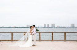 Riverside Pavillion Tropical Wedding