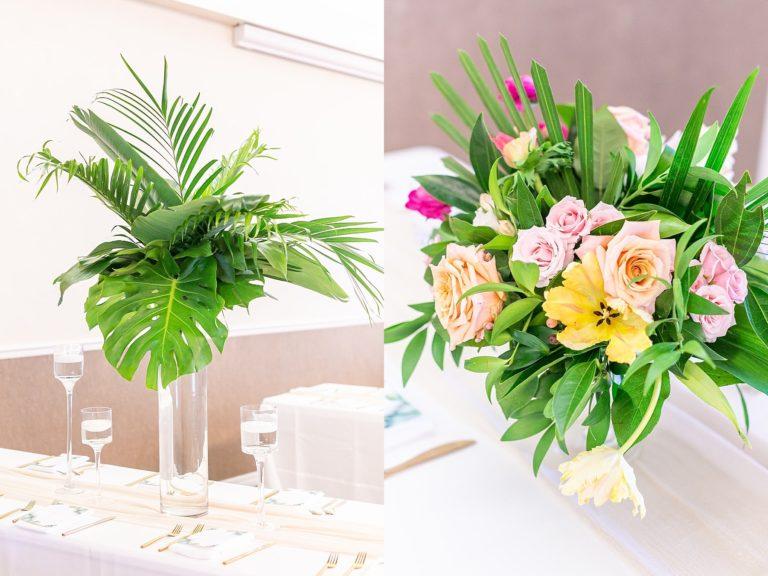Riverside Pavillion Floral Centerpiece