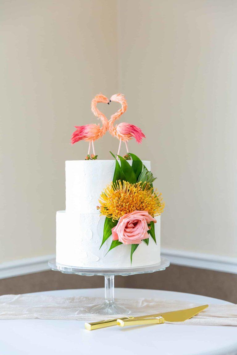 Riverside Pavillion Wedding Cake