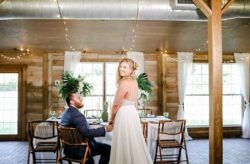 Tropical Wedding Shoot at Cross Creek Ranch