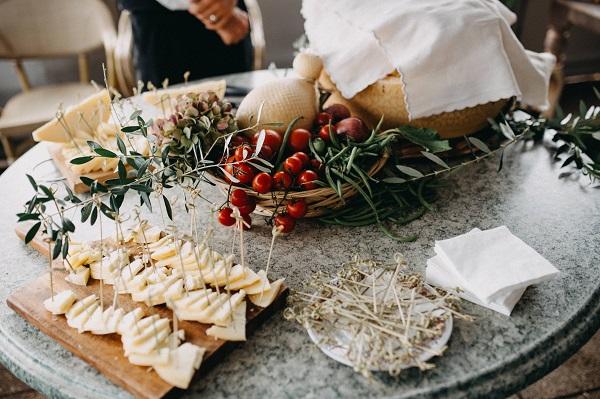 Inspirations: Fall & Winter Wedding Appetizers