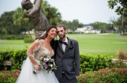 Gorgeous Purple and Gold Bay Hill Wedding