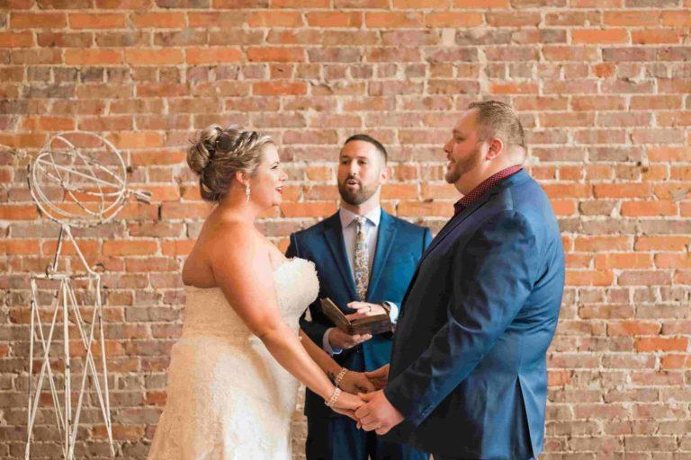CAVU Bride and Groom Ceremony