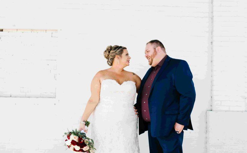 CAVU Bride and Groom Portrait
