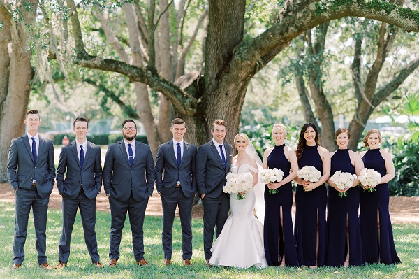 Country Club of Orlando Gold and Ivory Wedding