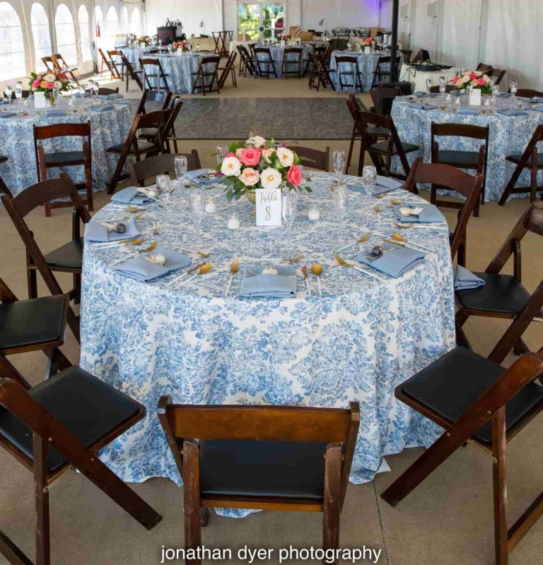 Sirata Beach Resort Reception Table Decor