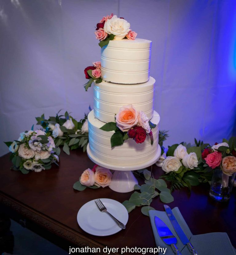 Sirata Beach Resort Wedding Cake