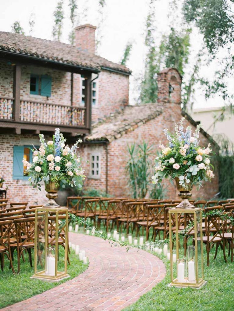 A Chair Affair French Country Chairs at Ceremony