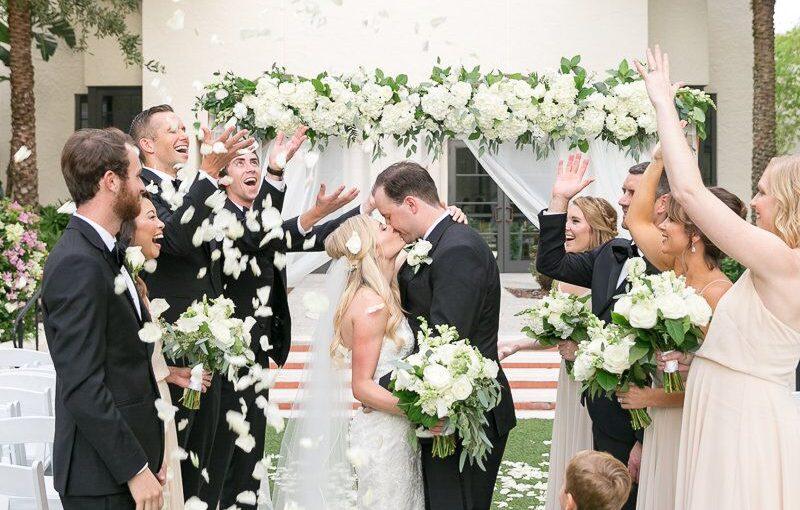 Alfond Inn elegant wedding party