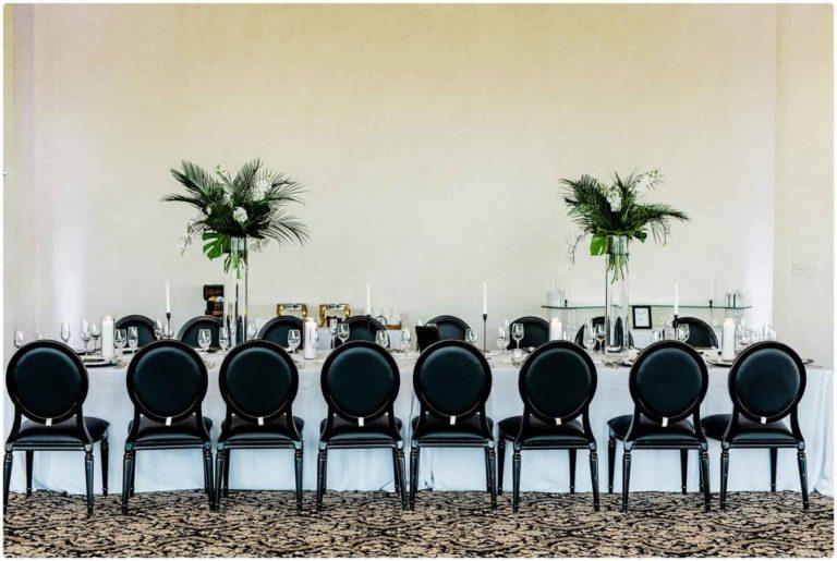 Bella Collina reception table