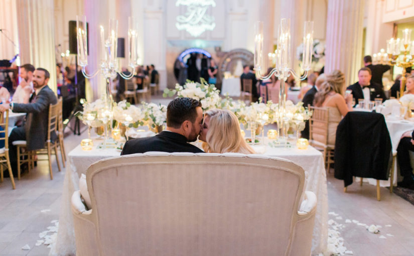 Luxurious Gold Wedding at the Treasury on The Plaza