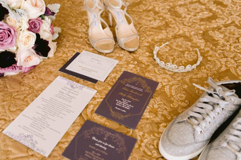 Glamorous Wedding Details