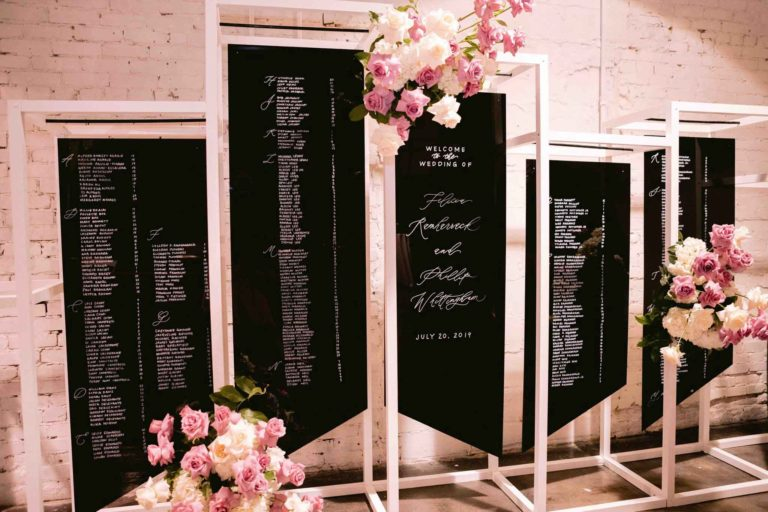 Grand Reception Seating Chart