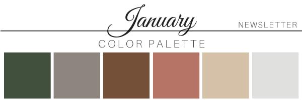 January 20 Color Palette - A Chair Affair