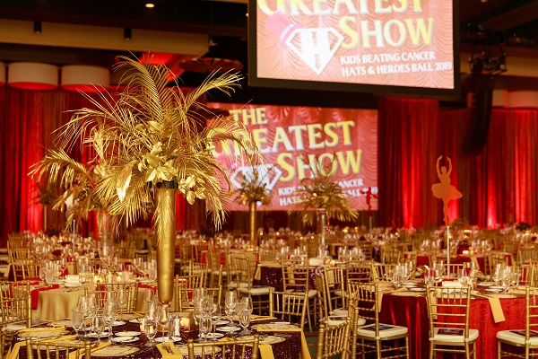Kids Beating Cancer Gala-The Greatest Show on Earth