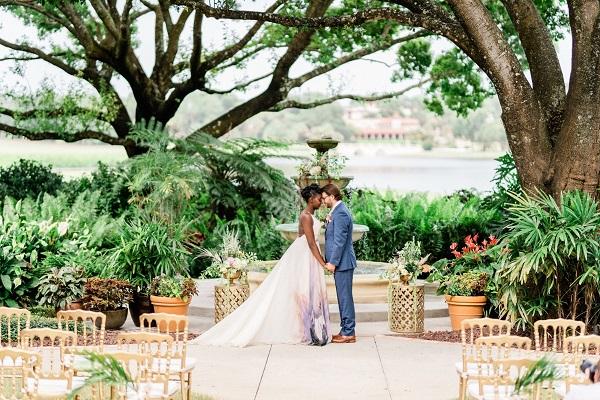 Mission Inn Resort Watercolor Wedding