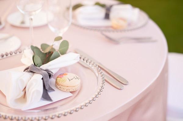 Soft Pastel and Silver Wedding-.Gasparilla Inn
