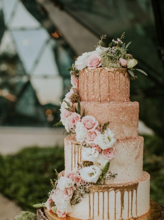 Station House St. Pete Wedding Cake