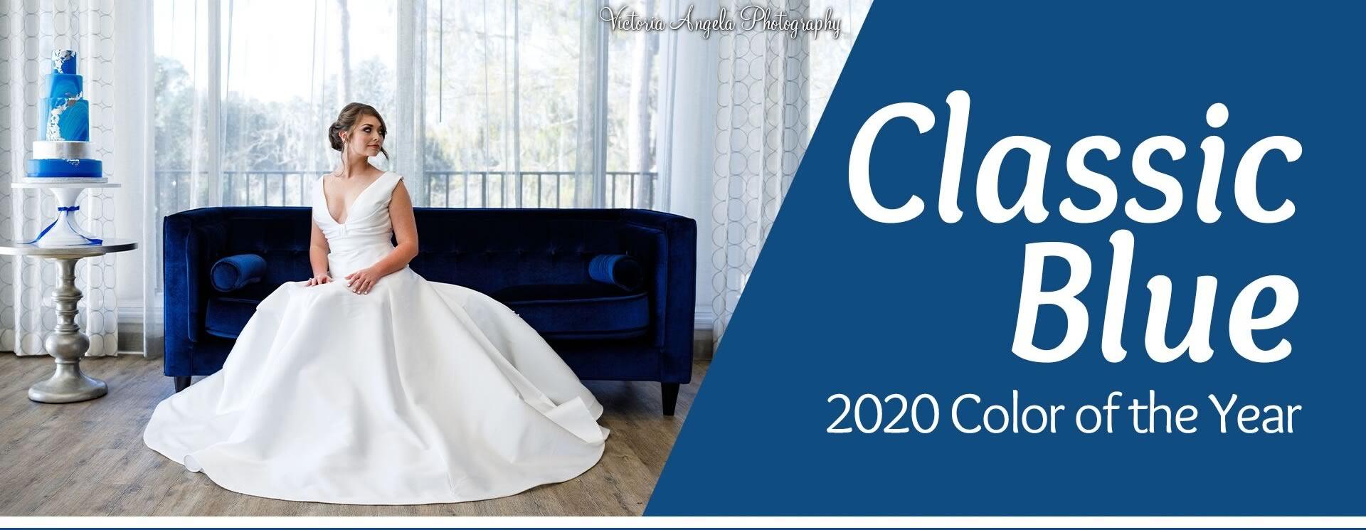 Classic Blue 2020 - A Chair Affair Rentals