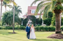 Gasparilla Inn Pink and White Wedding