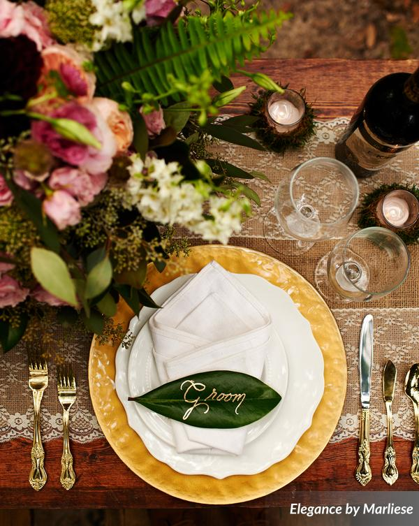 Groom Place Setting