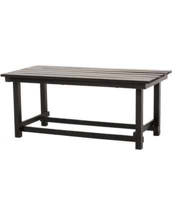 Hank Coffee Table - Black - A Chair Affair Rentals