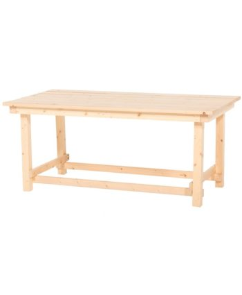 Hank Coffee Table - Natural Wood - A Chair Affair Rentals