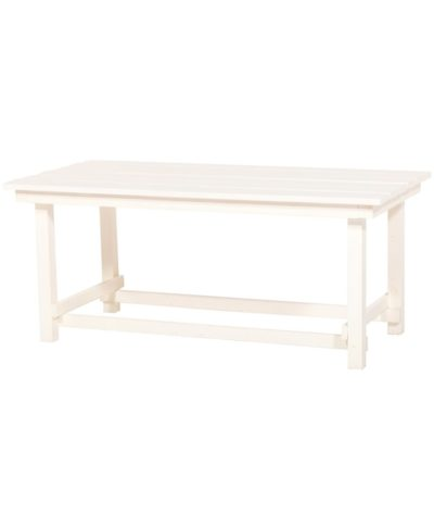 Hank Coffee Table – White – A Chair Affair Rentals