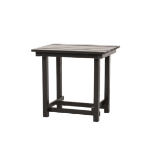 Hank End Table - Black - A Chair Affair Rentals