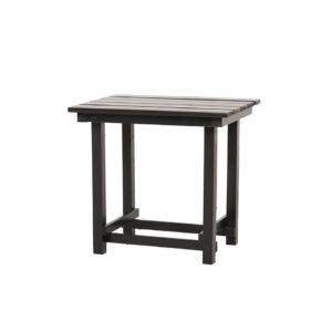 Hank End Table - Black - A Chair Affair Rentals