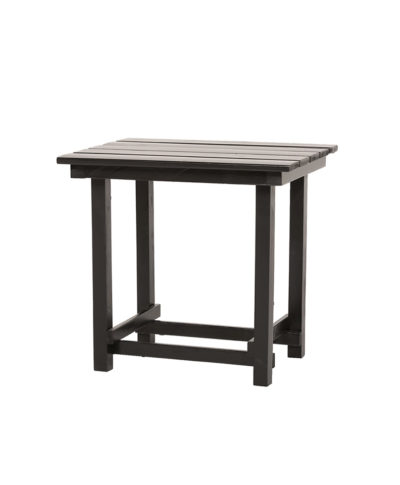 Hank End Table – Black – A Chair Affair Rentals