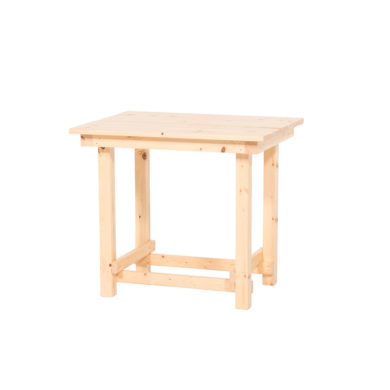 The Hank End Table – Natural Wood