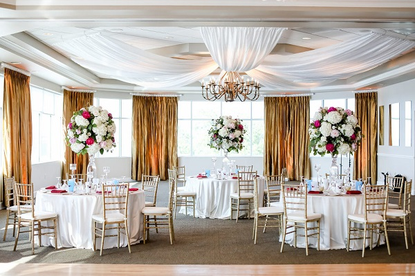 Isla Del Sol Yacht & Country Club- Romantic Beach Wedding- A Chair Affair
